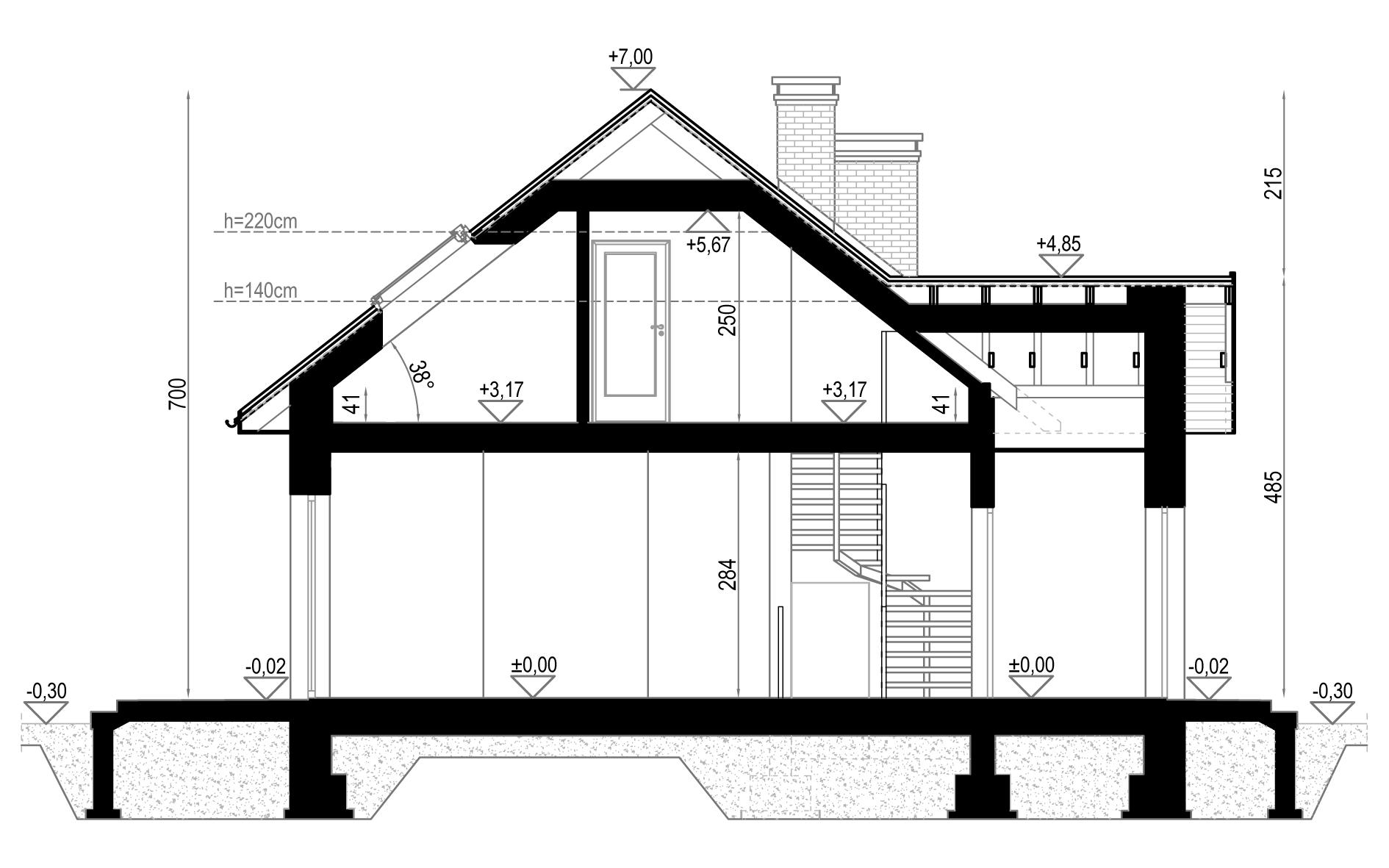 Projekt zaadaptowany przez naszych architektów